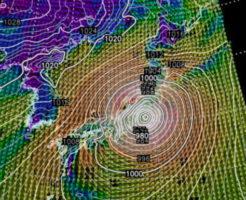 台風19号10月12日15:00