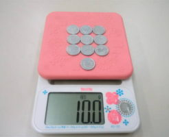1円玉10枚10g