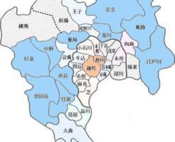 東京23区と35区