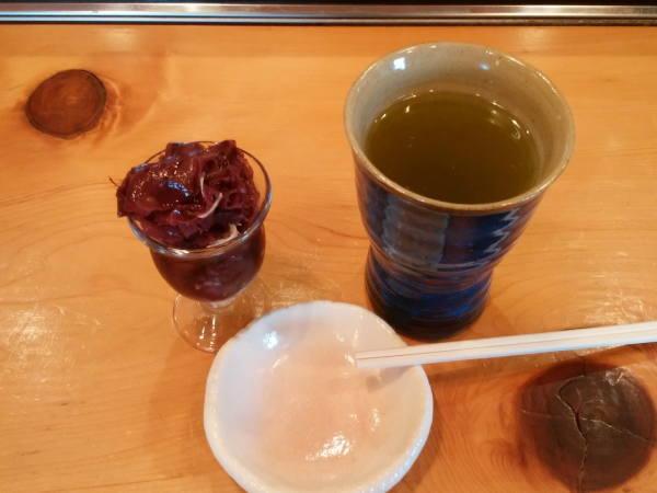 ニギスの三杯酢