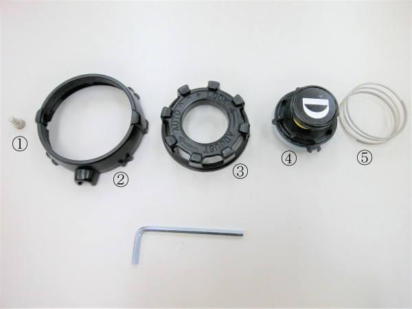 排気弁の分解