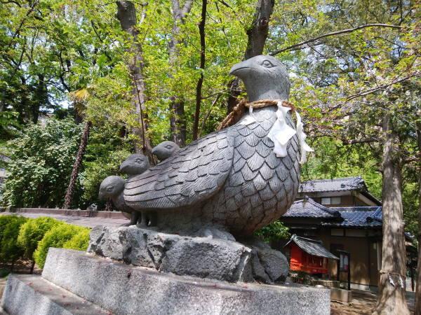 キジの大谷場氷川神社