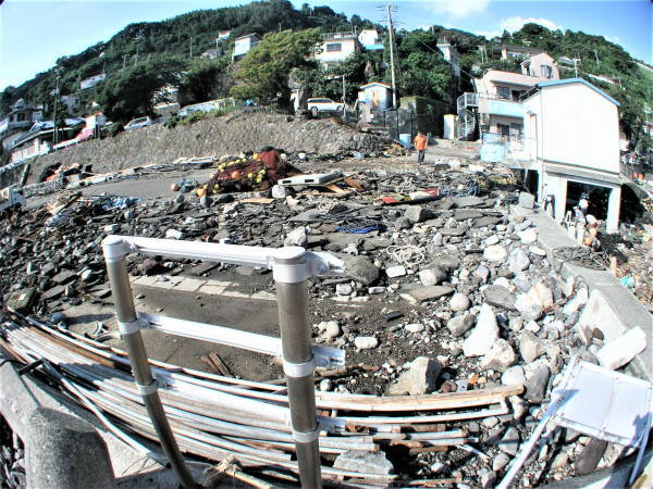 2007年9月台風9号江之浦被害