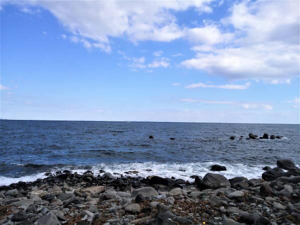 20171112江之浦の海 館山まで見える