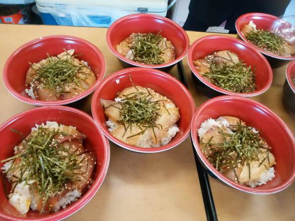 20171112江之浦ワラサの漬け丼