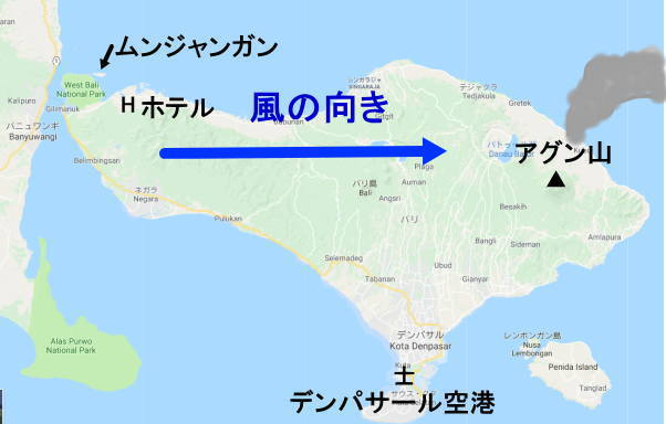 1126バリ島の風予報