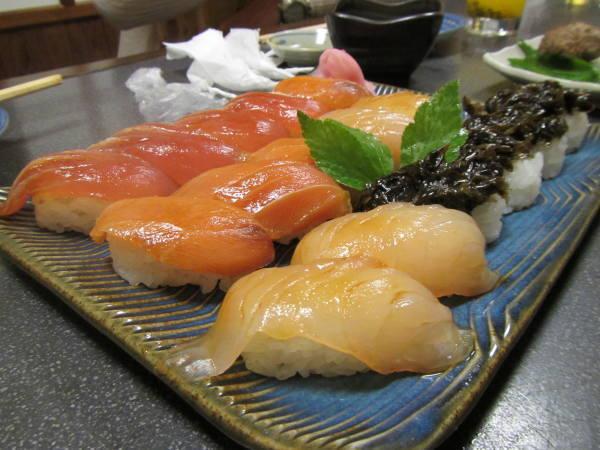 八丈島 島寿司